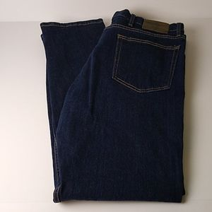 Wrangler 38/34 Regular Taper Dark Wash Jeans